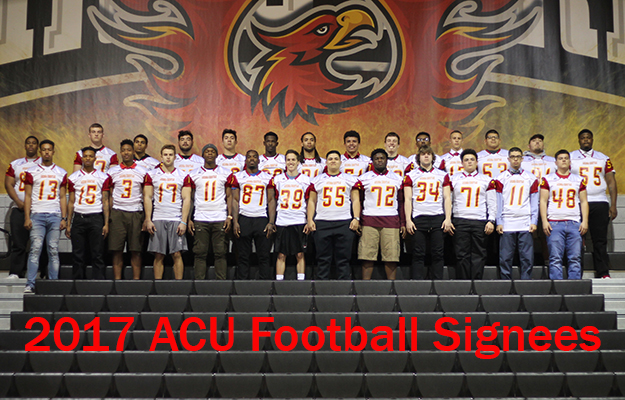 27 of 43 2017 ACU Signees On Campus For Signing Event