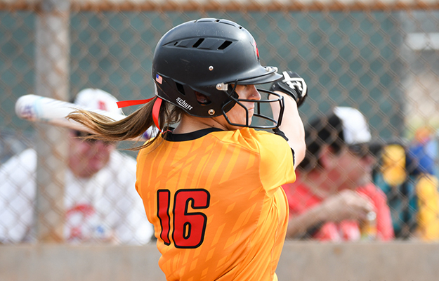 Taylor Babbitt doubled twice on Thursday (Photo by Keith Moody)