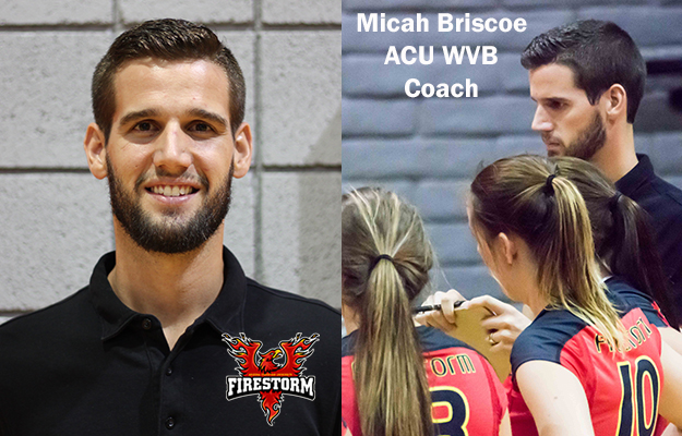 Micah Briscoe- New ACU Women's Volleyball Coach