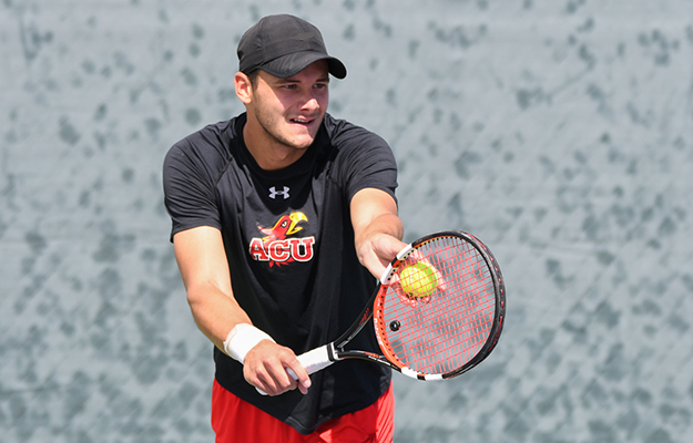 Douillac- GSAC Men's Tennis Player of the Month (Photo by Keith Moody)