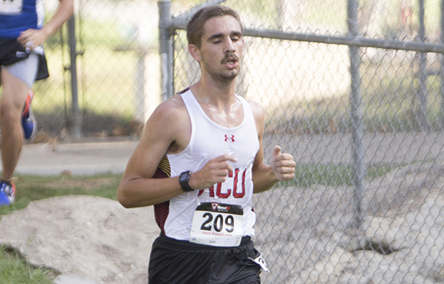 Tanner Hilton established a new PR on Saturday (Photo courtesy of Biola Sports Info)