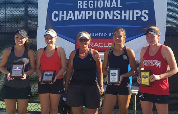 Photo for ACU Doubles Rule ITA NAIA West, Headed to ITA Nationals