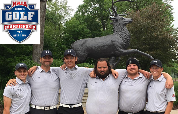 ACU Men's Golf made their NAIA Nationals appearance