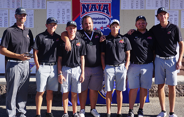 Photo for Men's Golf Takes Second At ERAU Spring Invite