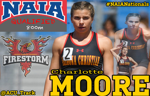 Charlotte Moore headed to Nationals