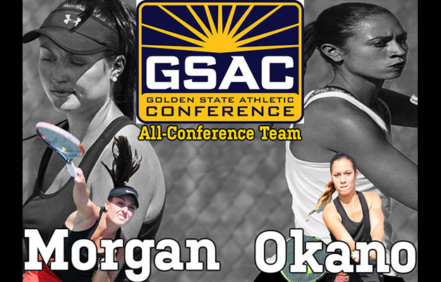 Photo for Morgan and Okano Garner All-GSAC Honors