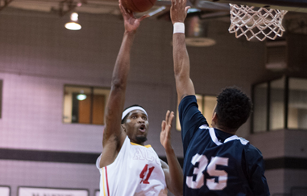 Patson Siame- GSAC MBB Player of the Week (Photo by Keith Moody)