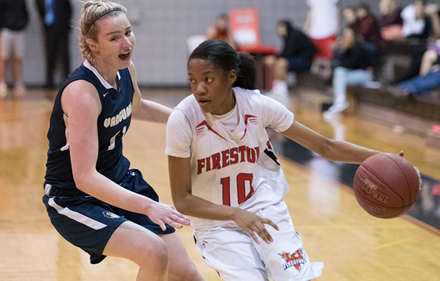 Jada Willingham topped with 26 points on Saturday (Photo by Keith Moody)