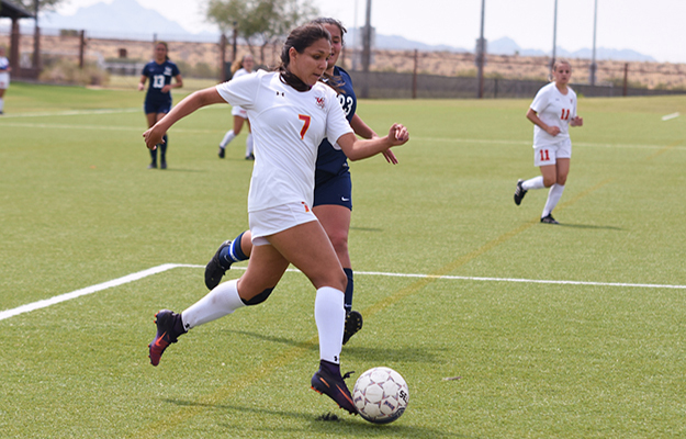 Sarahie Torres Acored and assisted twice on Saturday (Photo by Keith Moody)